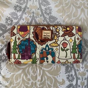 Disney Beauty and the Beast Dooney & Bourke Wallet